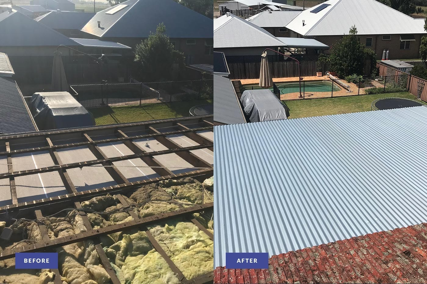 metal roof repairs newcastle