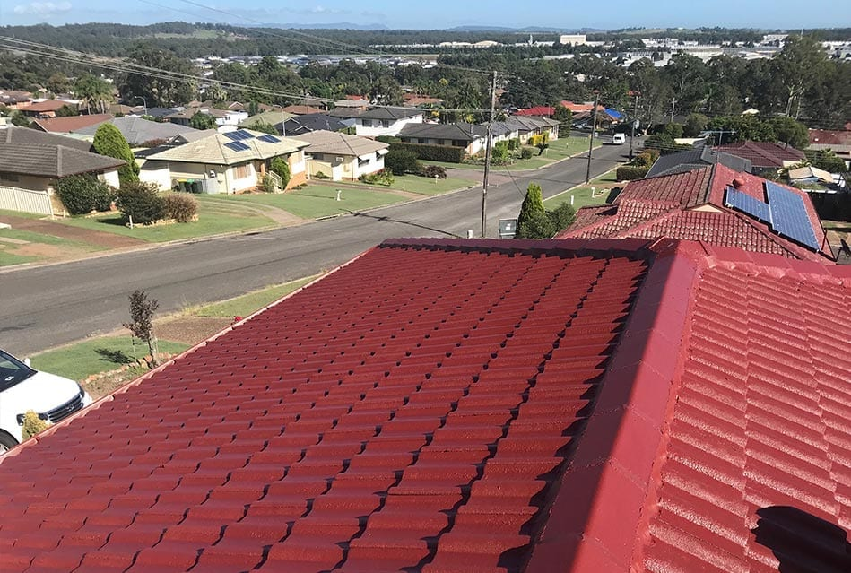 roof restored in Newcastle